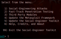 Social Engineering Infecting USB media project